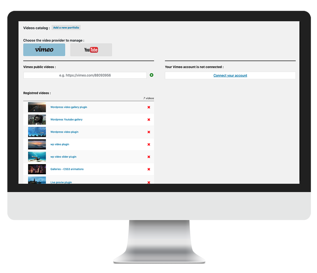 384665bdf1 WP Video Gallery: visually build Vimeo & Youtube portfolios in Wordpress